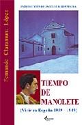 Portada de TIEMPO DE MANOLETE