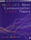 Portada de MCQUAIL'S MASS COMMUNICATION THEORY: SIXTH EDITION
