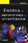 Portada de ESTILOS DE APRENDIZAJE Y ENSEÑANZA