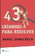 Portada de 43 CRIMENES PARA RESOLVER