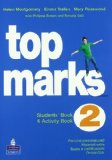 Portada de TOP MARKS. STUDENT'S BOOK-ACTIVITY BOOK. CON CD AUDIO. PER LA SCUOLA MEDIA: 2
