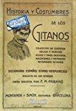 Portada de HISTORIA Y COSTUMBRES DE LOS GITANOS