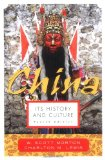 Portada de CHINA: IT'S HISTORY AND CULTURE (CHINA: IT'S HISTORY & CULTURE)