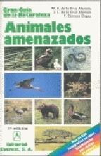 Portada de ANIMALES AMENAZADOS