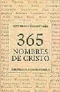 Portada de 365 NOMBRES DE CRISTO