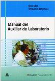 Portada de MANUAL DEL AUXILIAR DE LABORATORIO: TEST DEL TEMARIO