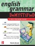 Portada de ENGLISH GRAMMAR DEMYSTIFIED: A SELF TEACHING GUIDE