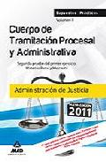 Portada de CUERPO DE TRAMITACION PROCESAL Y ADMINISTRATIVA DE LA ADMINISTRACION DE JUSTICIA.SUPUESTOS PRACTICOS. VOLUMEN II. SEGUNDA PRUEBA DEL PRIMER EJERCICIO. MATERIAS PENAL Y MERCANTIL
