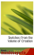 Portada de SKETCHES FROM THE VOLUME OF CREATION