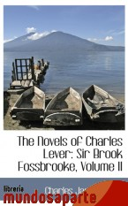 Portada de THE NOVELS OF CHARLES LEVER: SIR BROOK FOSSBROOKE, VOLUME II