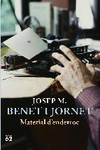 Portada de MATERIAL D'ENDERROC (EBOOK)