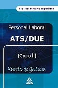 Portada de ATS/DUE DE LA XUNTA DE GALICIA: TEST DEL TEMARIO ESPECIFICO