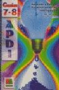 Portada de GUIA APDI 7-8 PARA SECUNDARIA