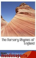 Portada de THE NURSERY RHYMES OF ENGLAND