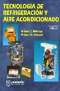 Portada de TECNOLOGIA DE REFRIGERACION Y AIRE ACONDICIONADO