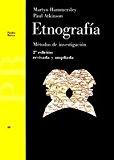 Portada de ETNOGRAFIA: METODOS DE INVESTIGACION