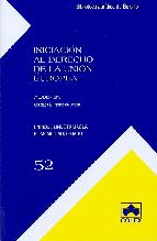 Portada de INICIACION AL DERECHO DE LA UNION EUROPEA (5ª ED.)