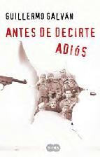 Portada de ANTES DE DECIRTE ADIÓS (EBOOK)