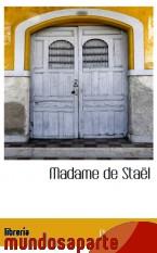 Portada de MADAME DE STAËL