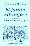 Portada de EL JARDIN EXTRANJERO. POEMAS DE TRISTIA