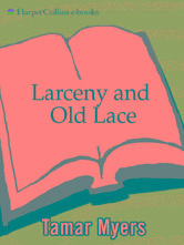 Portada de LARCENY AND OLD LACE