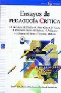 Portada de ENSAYOS DE PEDAGOGIA CRITICA