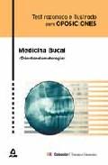 Portada de MEDICINA BUCAL : TEST RAZONADO E ILUSTRADO P ARA OPOSICIONES