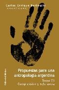 Portada de PROPUESTAS PARA UNA ANTROPOLOGIA ARGENTINA