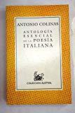 Portada de ANTOLOGIA ESENCIAL DE LA POESIA ITALIANA