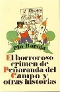 Portada de EL HORROROSO CRIMEN DE PEÑARANDA DEL CAMPO Y OTRAS HISTORIAS