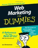 Portada de WEB MARKETING FOR DUMMIES (FOR DUMMIES (COMPUTERS))