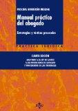 Portada de MANUAL PRÁCTICO DEL ABOGADO: ESTRATEGIAS Y TÁCTICAS PROCESALES (PRACTICA JURIDICA)