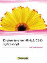 Portada de EL GRAN LIBRO DE HTML5, CSS3 Y JAVASCRIPT - EBOOK