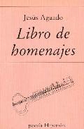 Portada de LIBRO DE HOMENAJES
