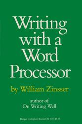 Portada de WRITING WITH A WORD PROCESSOR