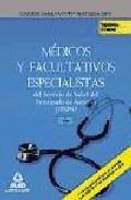 Portada de MEDICOS Y FACULTATIVOS ESPECIALISTAS DEL SERVICIO DE SALUD DEL PRINCIPADO DE ASTURIAS . TEMARIO COMUN