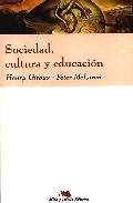Portada de SOCIEDAD, CULTURA Y EDUCACION