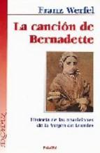 Portada de LA CANCION DE BERNADETTE (4ª ED.)