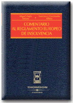 Portada de COMENTARIO AL REGLAMENTO EUROPEO DE INSOLVENCIA