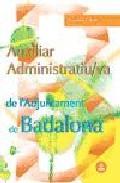 Portada de AUXILIAR ADMINISTRATIU/VA DE L AJUNTAMENT DE BADALONA