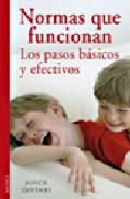 Portada de NORMAS QUE FUNCIONAN: LOS PASOS BASICOS Y EFECTIVOS