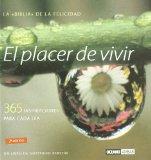 Portada de EL PLACER DE VIVIR: 365 INSPIRACIONES PARA CADA DIA