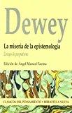 Portada de LA MISERIA DE LA EPISTEMOLOGIA: ENSAYOS DE PRAGMATISMO