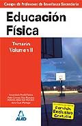Portada de CUERPO DE PROFESORES DE ENSEÑANZA SECUNDARIA: EDUCACION FISICA: TEMARIO: VOLUMEN II