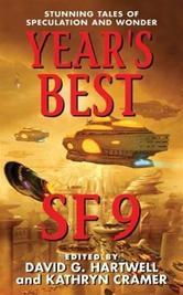 Portada de YEAR'S BEST SF 9