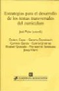 Portada de ESTRATEGIAS PARA EL DESARROLLO DE LOS TEMAS TRANSVERSALES DEL CURRICULUM