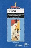Portada de FORMACION DEL PROFESORADO Y CONDICIONES SOCIALES DE LA ESCOLARIZACION