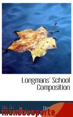Portada de LONGMANS` SCHOOL COMPOSITION