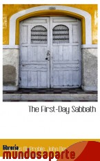 Portada de THE FIRST-DAY SABBATH