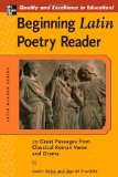 Portada de BEGINNING LATIN POETRY READER: 70 PASSAGES FROM CLASSICAL ROMAN VERSE AND DRAMA (LATIN READERS (MCGRAW-HILL))